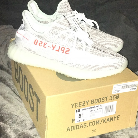 388c08cd7d1 Yeezy Boost 350 V2 Blue Tint. NWT. adidas.  550  220. Size. 8.5